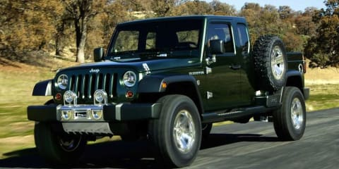 Jeep likely to build a Wrangler Ute (pickup)