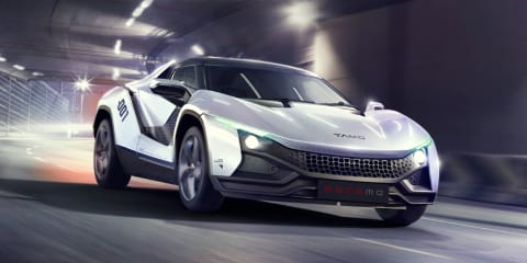 Tata Tamo Racemo sports car unveiled