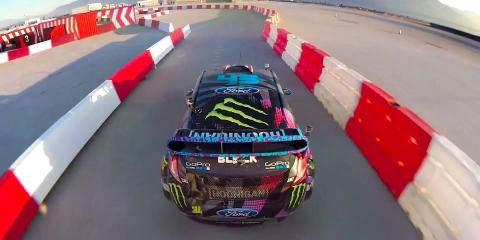 Ken Block meets Need for Speed in Gymkhana Six