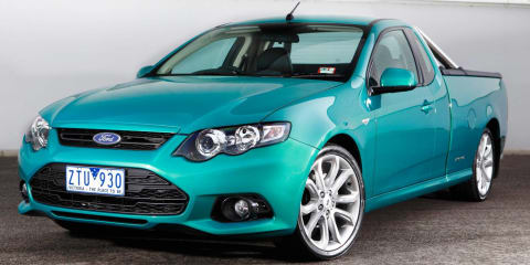 2012-13 Ford Falcon FG II ute recalled over rear axle fix:: 3000 vehicles affected
