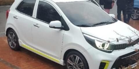 2017 Kia Picanto captured in the wild
