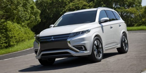 2016 Mitsubishi Outlander to debut at New York auto show