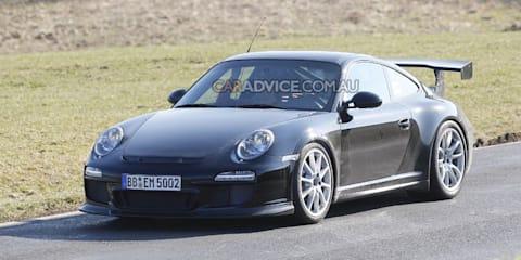 2009 Porsche GT3 RS spied