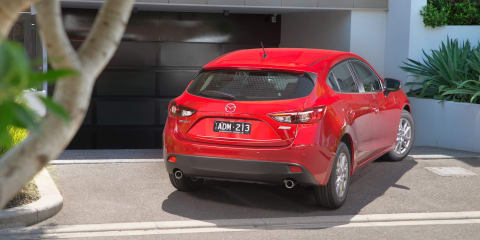 Mazda 3 Neo : Boss defends lack of reverse-view camera; says kids shouldn't be on driveways