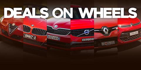 Deals On Wheels - European brand special