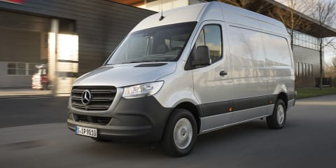 Mercedes-Benz Sprinter pricing and specs