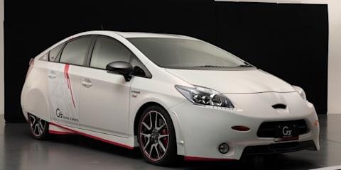 Toyota Prius G Sports Concept at the Tokyo Auto Salon