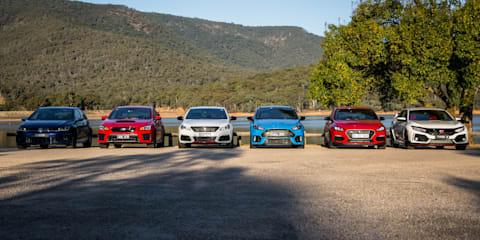 2018 Hot Hatch Mega Test Video, Part 2: Road