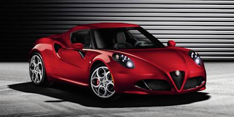 Alfa Romeo 4C: production car revealed ahead of Geneva debut
