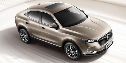 Borgward BX6 SUV sedan unveiled, electric BXi7 detailed