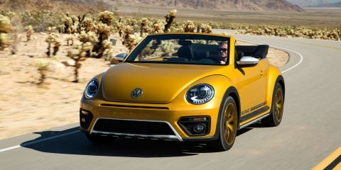 Volkswagen Beetle Dune production model unveiled in LA - UPDATED