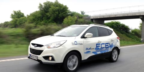 Hyundai ix35 FCEV testing in Europe