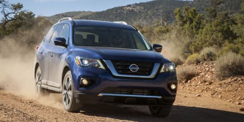 2017 Nissan Pathfinder pricing and specs