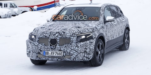 Mercedes-Benz 'EQC' spied