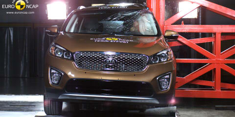The safest SUV in Australia:: 2015 Kia Sorento