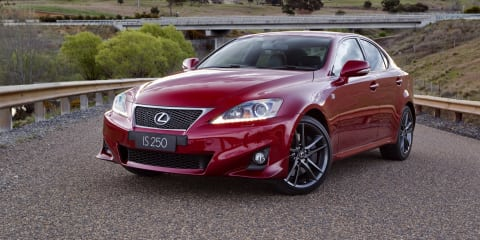 2005-12 Lexus IS recalled