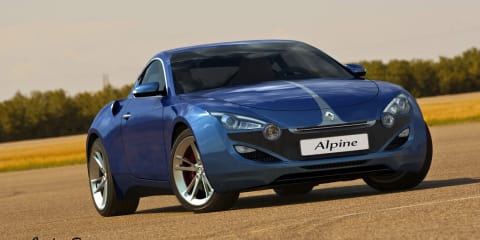 2012 Renault Alpine Sports Coupe design study