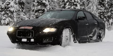 Maserati Ghibli: prototype of Italian E-Class rival spied