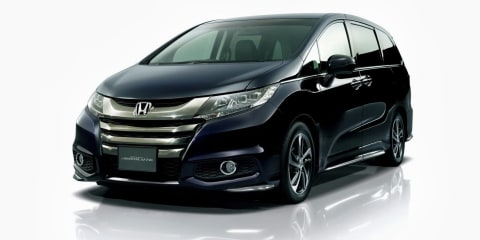 Honda Odyssey: fifth-gen people-mover revealed