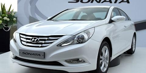 2011 Hyundai Sonata unveiled at Frankfurt Motor Show
