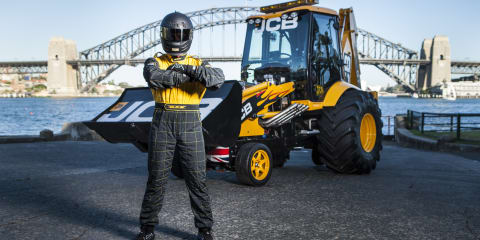 Dig this: JCB GT sets land-speed record, with a twist