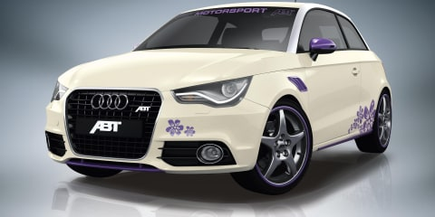 ABT Audi A1 Sportsline tuning and cosmetic packages