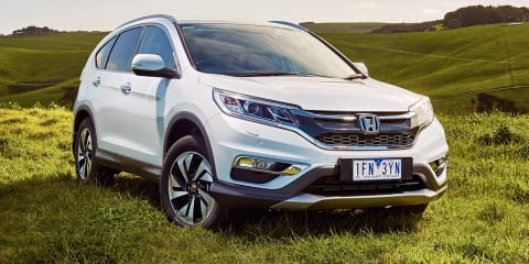 Honda CR-V DTi-L Limited Edition gets 1.6-litre turbo diesel 'Earth Dreams' engine