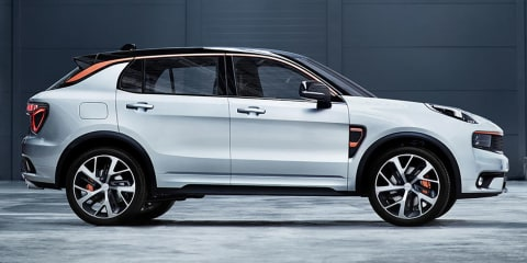 "Lynk & Co 01 revealed:: New Chinese SUV ""the most connected car to date"""
