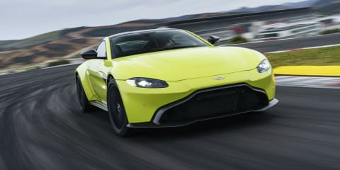 Aston Martin Vantage Roadster coming later this year, no V12 confirmed... yet
