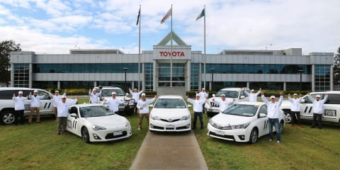 Toyota begins global vehicle development drive program in Australia