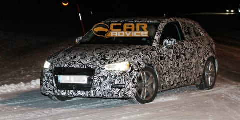 2013 Audi A3 winter spy shots