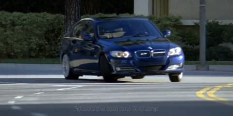 Video: BMW 335d commerical promotes diesel drifting