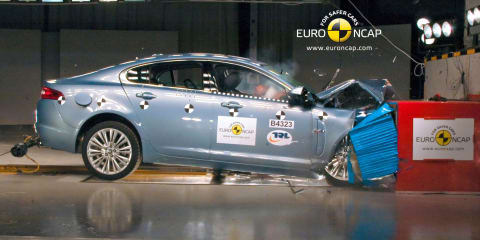Jaguar XF improvements promised after disappointing four-star NCAP safety rating