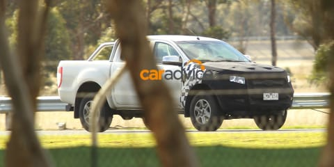 2015 Ford Ranger spied testing in Victoria