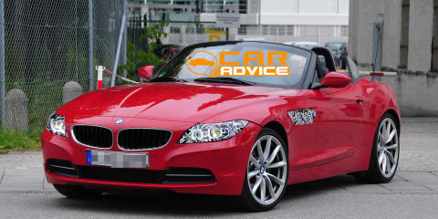 BMW Z4: first look at facelift for German roadster