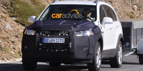 2015 Holden Captiva 7 : Final facelift for ageing SUV spied