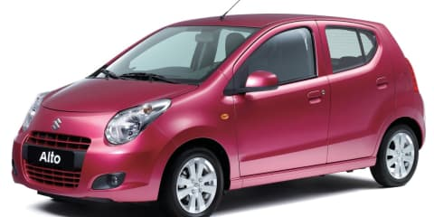 Suzuki Alto launched in Australia