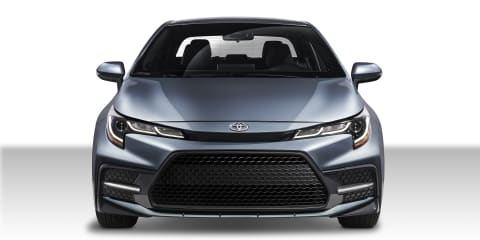 2019 Toyota Corolla sedan revealed