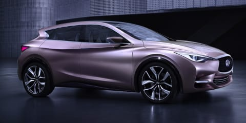 Infiniti set for major product expansion in Australia from 2016