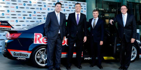 V8 Supercars signs six-year, $241m deal with Foxtel, Fox Sports, Ten Network