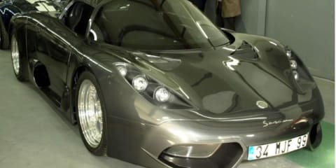 Onuk Sazan supercar nears completion in Turkey