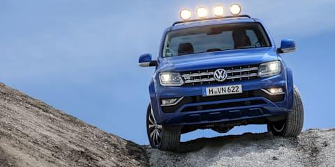 2017 Volkswagen Amarok V6:: four-wheel disc brake upgrade, but no rear airbags