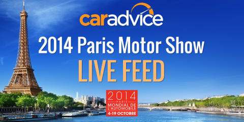 2014 Paris Motor Show : LIVE feed