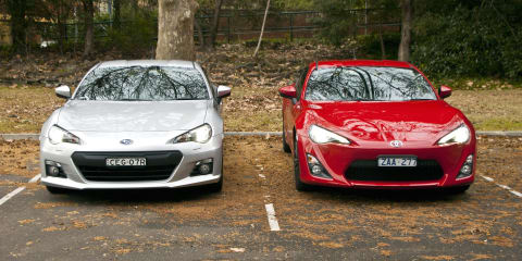 Toyota 86 vs Subaru BRZ Comparison Review