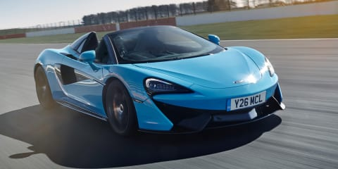McLaren 570S Spider gains Track Pack option