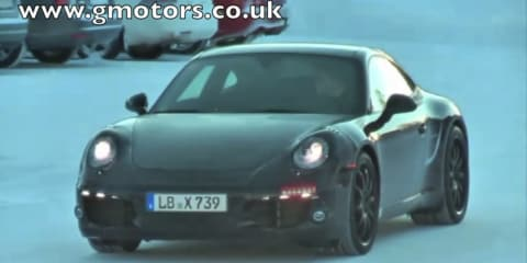 Video: 2012 Porsche 991 911 spied in Sweden
