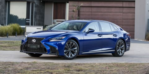 2018 Lexus LS500 F Sport review