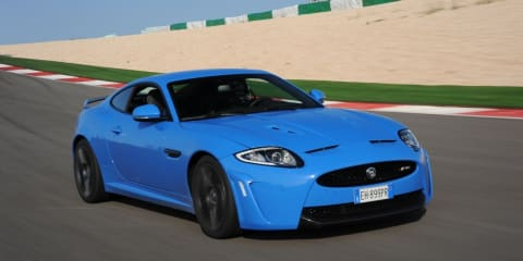 Jaguar XKR-S on track in Portugal: Exclusive video