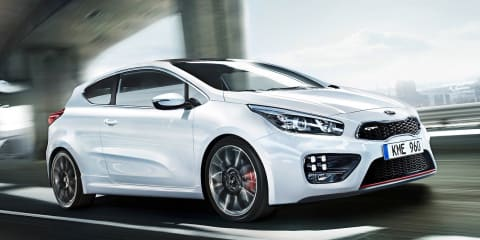 Kia pro_cee'd GT: Korea's 150kW Golf GTI rival headed for Geneva