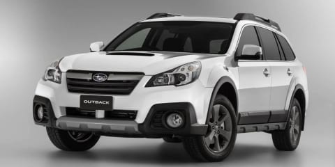 Subaru Outback: tougher look, price rise for 2014